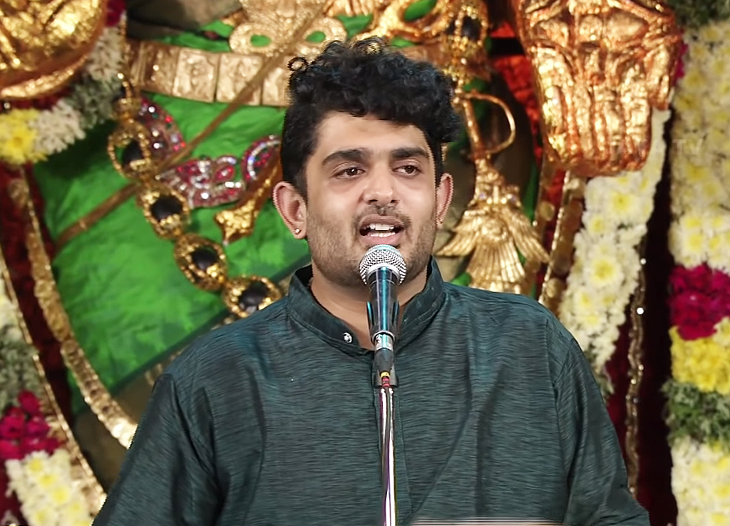 Isai Arasar Awardee Sid Sriram