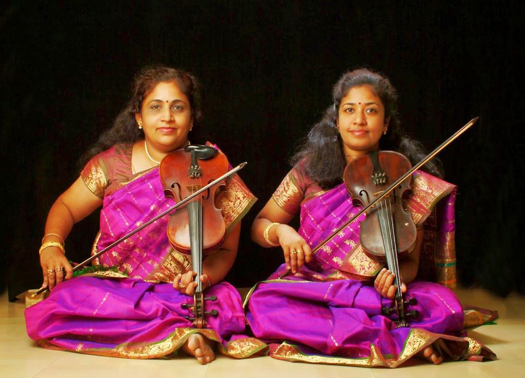 Dr. M. Lalitha & M.Nandhini Violin Duet