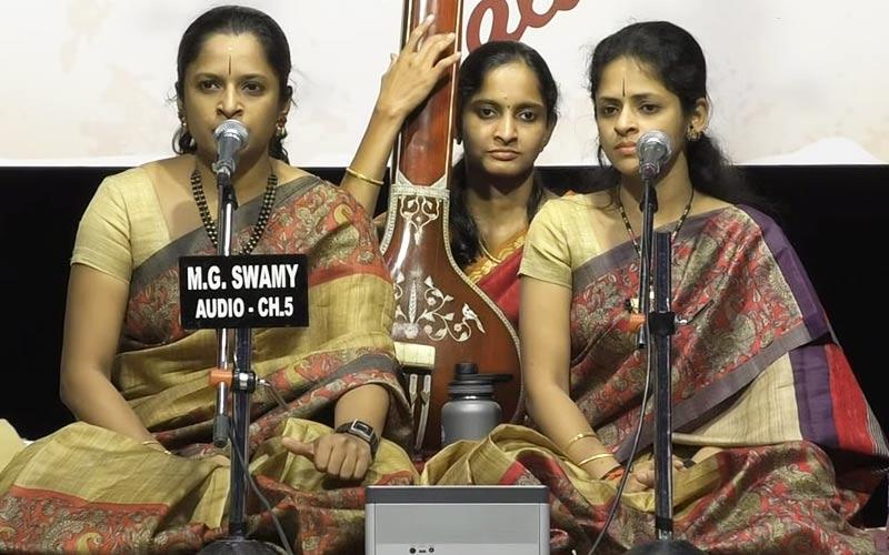 Akkarai Sisters - Subhalakshmi & Sornalatha - Vocal