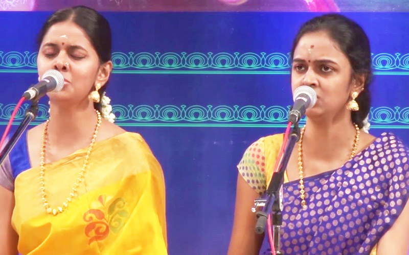 Anahita & Apoorva Ravindran - Vocal